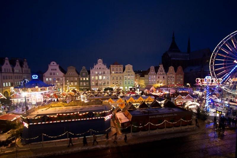 5 dager Den stemningsfylte førjulstiden Julemarked i Rostock